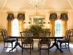 Strikingly Beautiful Drapes For Formal Dining Room Curtains Ideas Window Treatment Pictures Bay Treatments Sheer Tie Up Shade