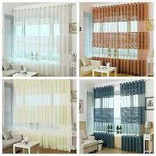 gardinen wohnzimmer vorhänge mit ösen dekogardinen