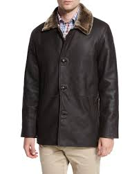 Peter Millar Cortina Leather & Shearling Fur Coat In Black For Men ... Womens Brown Shearling Sheepskin Duffle Coat Daria Uk Lj Coach Jacket In Green For Men Lyst Taylor Stitch Blanket Lined Barn Jacket Huckberry Consume Urban Outfitters Uo Faux Barn And Wool Shop Jackets Peter Millar Cortina Leather Fur Fashion 2017 Weatherproof Fauxshearling For Women Save 50 237 Best Sheepskins I Love Images On Pinterest Bogoli Lamb Amazoncom Mountain Khakis Mens Ranch Sports