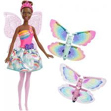 Barbie Dreamtopia Flying Wings Fairy Doll Dark
