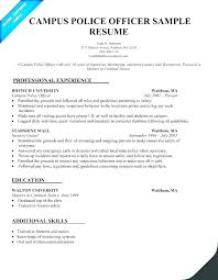 Resume Template Word 2007 Legal Officer Sample Example Police Of Examples Personal Correctional Correction Doc Samples Skills For
