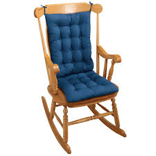 Rocking Chair Cushion - Blue