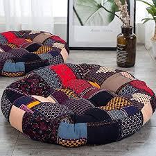 jymbk böhmische patchwork stil bodenkissen sitz runde