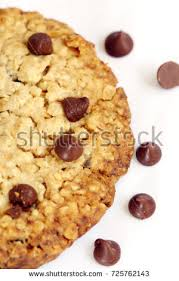 cuisine cooky snack isolated chocolate chip cooky on stock photo 725762143