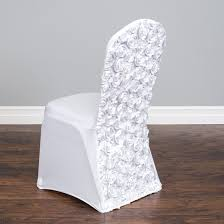 Satin Rosette Stretch Banquet Chair Cover White, Folding ... Folding Chair Cover Details About 50 Black White Damask Flocking Chair Covers Wedding Ceremony Decorations Lifetime Spandex Chair Covers Stretch Lycra Cover Party Satin Ivory Reception Spandex Stretchable Fitted Dinner Polyester Or Seat Seatcover Resin W Padded Seat Silver Linentablecloth 88 Awesome Models Of Cheap Home Design