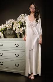 robe de chambre satin homme sublime ensemble sophistiqué déshabillé et nuisette longue