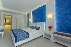ein süßes hotel im typisch griechischen stil sauber und