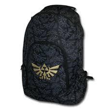 legend of zelda nintendo triforce black backpack for only 30 96