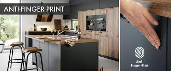 anti finger print küchenfronten schick pflegeleicht