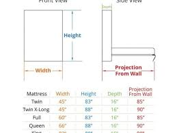 king size bed Headboard Measurements For Queen Size Bedbest