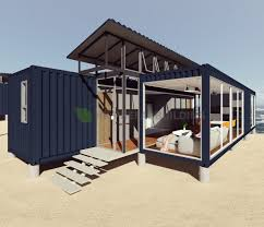 100 Container Shipping House Hot Item Deluxe Ocean View Modular Prefabricated 40feet