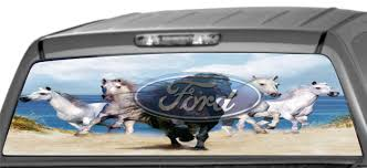 Rear Window Graphics, Horses On Beach With Ford One Of Hte Many Camo Window Graphics We Offer Universal Cut To Fit Custom Vehicle Window Graphics Extension Esymechas Elegant Ford F150 Rear Decals Northstarpilatescom Realtree Camo Graphic 657332 Skulls Truck Decal Xtreme Digital Graphix Florida Gators Oak Tree Back Amazoncom American Flag Eagle 2 17 Inchesby56 Inches Compact From A1 Pro Tint Youtube Vinyl Truck Tuna Mahi Fishing Perforated