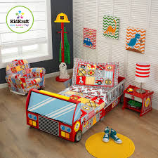 Fire Truck Bedroom Ideas With Toddler Bedding Set Low Budget ...
