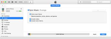 Sync your iPhone iPad or iPod touch with iTunes on your puter
