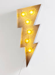 photo 2 of lightning bolt marquee light products i like