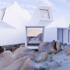 104 Building A Home From A Shipping Container Unbuilt House For Joshua Tree On Sale For 3 5 Million