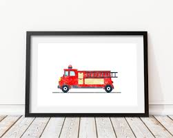 Firetruck Print Watercolor Decor Firetruck Wall Art | Etsy Fireman Wall Sticker Red Fire Engine Decal Boys Nursery Home Firetruck Childrens Wallums Truck Firefighter Vinyl Bedroom Stickerssmuraldecor Really Remarkable Fun Kids Bed Designs And Other Function Amazoncom New Fire Trucks Wall Decals Stickers Firemen Ladder Patent Print Decor Gift Pj Lamp First Responders 5 Solid Wood City New Red Pickup Metal Farmhouse Rustic Decor Vintage Style Fire Truck Ideas And Birthday Decoration Astounding Dalmation Name Crazy Art Remodel Etsy