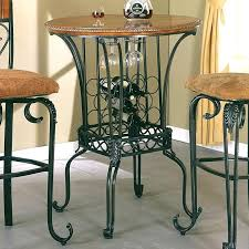 Dining Room Wine Bar Crown Mark Table Round Item Number Bishops