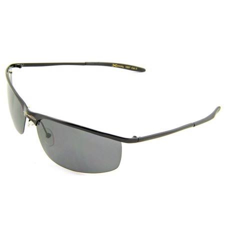X Loop Polarized Lenses DG Sunglasses - Black