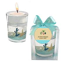 Stunning Beachthemed Candle Favor 20