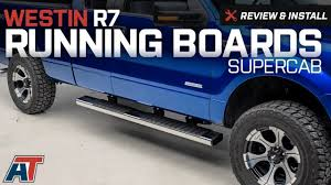 100 Westin Truck 20042014 F150 R7 Running Boards Review Install YouTube