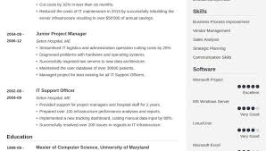 Resume For Over 50