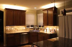 gorgeous kitchen led lighting and cabinet strips kit lights
