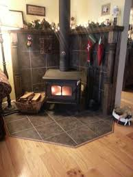 Wood Burning Stove Mantle Like The Behind