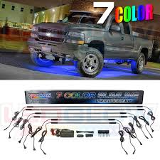 LedGlow 6pc 7 Color SMD LED Slimline Truck Underbody Underglow Kit ... Buy A Game Truck Pre Owned Mobile Theaters Used Amazoncom Ledglow 6pc Multicolor Smline Led Truck Underbody California Neon Underglow Lights Laws 2018 8pcsset Under Car Light Kit Chassis Ford Fiesta Stickerbomb And Neons Underglow Neon Xkglow Xk034001w White Rock 2011 F250 Off The Clock Photo Image Gallery Colored Lighting Services In Evansville Newburgh Southern New Gen Suv Boat Tube Wide Angle On Chevy Youtube Image 7 Color 4pcs Auto System