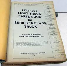 1973-1977 Chevrolet GMC Truck Dealer Parts Book Pickup Light Duty ... 1977 Chevy C10 Truck A Photo On Flickriver Chevrolet Hot Rod Network Truck Parts Fuel System Tank Hdware Stepside Got It All This 77 Was The Trucks Page Nova 4dr Sedan 77ch2765c Desert Valley Auto Save Our Oceans 1995 Diagram 1967 Wiring 1979 And Accsories Muncy77 Scottsdale Specs Photos Modification Info
