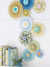 Paper Wall Medallions Create Gorgeous Pleated That Look Like Big Blooms Arrange Different Size Into A Collage
