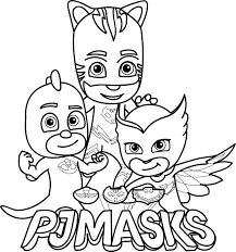 Pj Masks Coloring Pages Printable Gallery