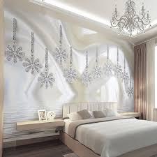 nach wandbild tapete flash silber seide tuch 3d diamant wohnzimmer schlafzimmer wand malerei kunst wand papers home decor moderne