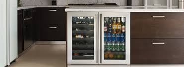 U Line Undercounter Wine Cooler And Refrigerator