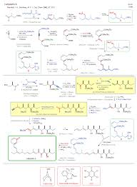 99 Bu Chem Reaction Scheme For Total Synthesis Of The Natural Product
