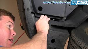 how to change the bulb in your 03 07 cadillac cts fog daytime