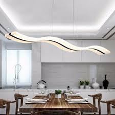 luminaire pour cuisine moderne le de cuisine suspendu finest minimalisme acrylique aluminium