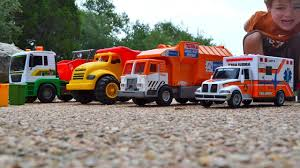 100 Dump Trucks Videos Garbage Truck For Children L Tipper Truck Ambulance