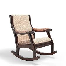 Amazon.com: Furniture Of America Betty Rocking Chair, Antique Oak ...