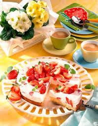 erdbeer quark torte diabetiker rezept lecker lecker