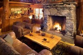Log Cabin Home Plans See An Incredible Collection Of Rustic Stone Fireplaces