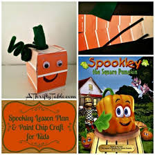 Spookley The Square Pumpkin by Spookley The Square Pumpkin Homeschool Lesson Plan U0026 Craft