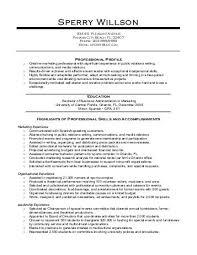 sle hospitality sales resume