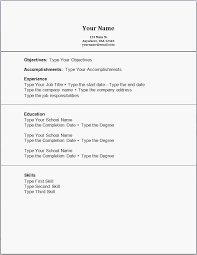Job Resume Examples No Experience Unique Sample 0d Good Looking