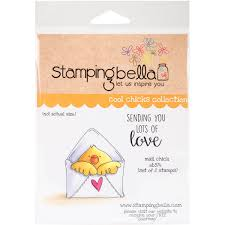 Stamping Bella Cling StampsMail Chick Walmartcom