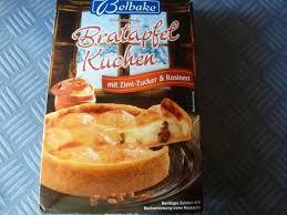 fotos und bilder kuchen torten backmischung bratapfel