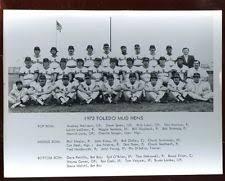 1973 Toledo Mud Hens Team 8 X 10 Photo
