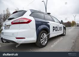 Tampere Finland October 12 Finnish Police Stock Photo 269940374
