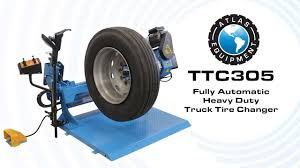100 Heavy Duty Truck Tires Atlas TTC305 Automatic Tire Changer How To Change