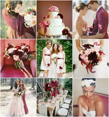 Inspiration Board Burgundy Pink And Red Bajan Wed